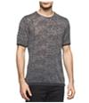 Calvin Klein Mens Slim-Fit Burnout Embellished T-Shirt