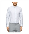 Calvin Klein Mens Cool Tech Dobby Button Up Shirt