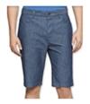 Calvin Klein Mens Chambray Casual Walking Shorts