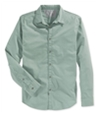 Calvin Klein Mens Ls Printed Button Up Shirt