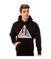 Black Scale Mens The First Supper Pullover Hoodie Sweatshirt