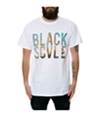 Black Scale Mens The Mi Amor Graphic T-Shirt