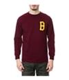 Black Scale Mens The B Logo Ls Graphic T-Shirt