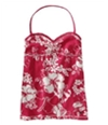 Aeropostale Womens Floral Cami Tank Top pinkme XS