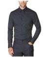 Perry Ellis Mens Slim Fit Splatter Button Up Shirt