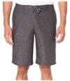 Perry Ellis Mens Linen Chambray Casual Walking Shorts