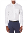 Perry Ellis Mens Non-Iron Solid Button Up Shirt