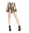 Material Girl Womens Printed Skater Mini Skirt