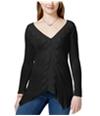 American Rag Womens Crochet V-Neck Pullover Blouse