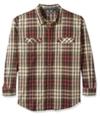 G.H. Bass & Co. Mens Mountain Twill Button Up Shirt