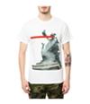 Black Scale Mens The Der Kopf Ss Graphic T-Shirt