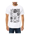 Black Scale Mens The Societies Silent Science Graphic T-Shirt
