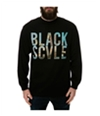 Black Scale Mens The Mi Amor Ls Graphic T-Shirt