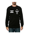 Black Scale Mens The Warrior Blvck Ls Graphic T-Shirt