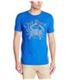 G.H. Bass & Co. Mens Crab Beach Graphic T-Shirt