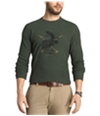G.H. Bass & Co. Mens Outdoor Crew Thermal Sweater