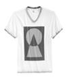 I-N-C Mens Geometric Dot Graphic T-Shirt