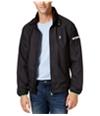 Izod Mens Reflective Windbreaker Jacket