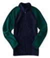Aeropostale Mens Poly 1/4 Zip Fleece Jacket