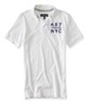 Aeropostale Mens A87 Nyc Rugby Polo Shirt