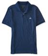 Aeropostale Mens A87 Heathered Rugby Polo Shirt 410-2 XS