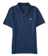 Aeropostale Mens A87 Heathered Rugby Polo Shirt 410 XS