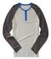 Aeropostale Mens Raglan Henley Shirt