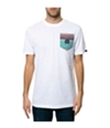 Emerica. Mens The S. West Pocket Embellished T-Shirt white S