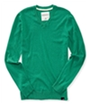 Aeropostale Mens Solid Ribbeed Pullover Sweater 375 XL