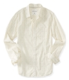 Aeropostale Mens Retro Striped Button Up Shirt