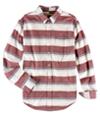 Aeropostale Mens Multi Striped Button Up Shirt