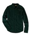 Aeropostale Mens Corduroy Button Up Shirt 383 S