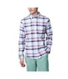 Aeropostale Mens Plaid Long Sleeve Casual Button Up Shirt