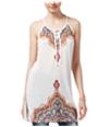 American Rag Womens Printed Tunic Blouse