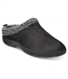 32 Degrees Mens Roll Collar W/Sherpa Clog Comfort Slippers