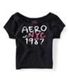 Aeropostale Womens Ss Sleep Sweatshirt 001 XS