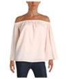 French Connection Womens Summer Crepe Knit Blouse
