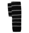 Aeropostale Mens Striped Knit Self-Tied Necktie