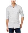 Tommy Hilfiger Mens Logan Space-Dye Button Up Shirt