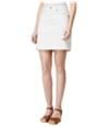 Lucky Brand Womens Textured Mini Skirt