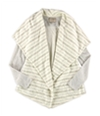 Lucky Brand Womens Striped Knit Sweater