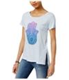 Lucky Brand Womens Hamsa Graphic T-Shirt