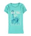 Aeropostale Womens New York City Liberty Graphic T-Shirt
