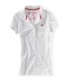 Aeropostale Womens A87 5 Button Polo Shirt