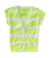 Aeropostale Womens Cardigan Button Up Shirt