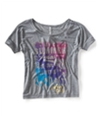 Aeropostale Womens Summerfest Dolman Graphic T-Shirt 052 L