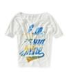 Aeropostale Womens Hello Sun Shine Graphic T-Shirt