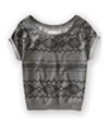 Aeropostale Womens Southwest Dolman Knit Sweater 053 M