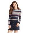 Aeropostale Womens Knit Patterned Pullover Sweater