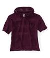 Aeropostale Womens Stripe Kint Popover Hooded Sweater 571 XS